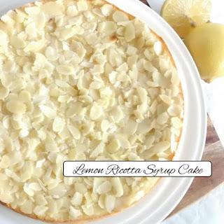 Lemon Ricotta Syrup Cake