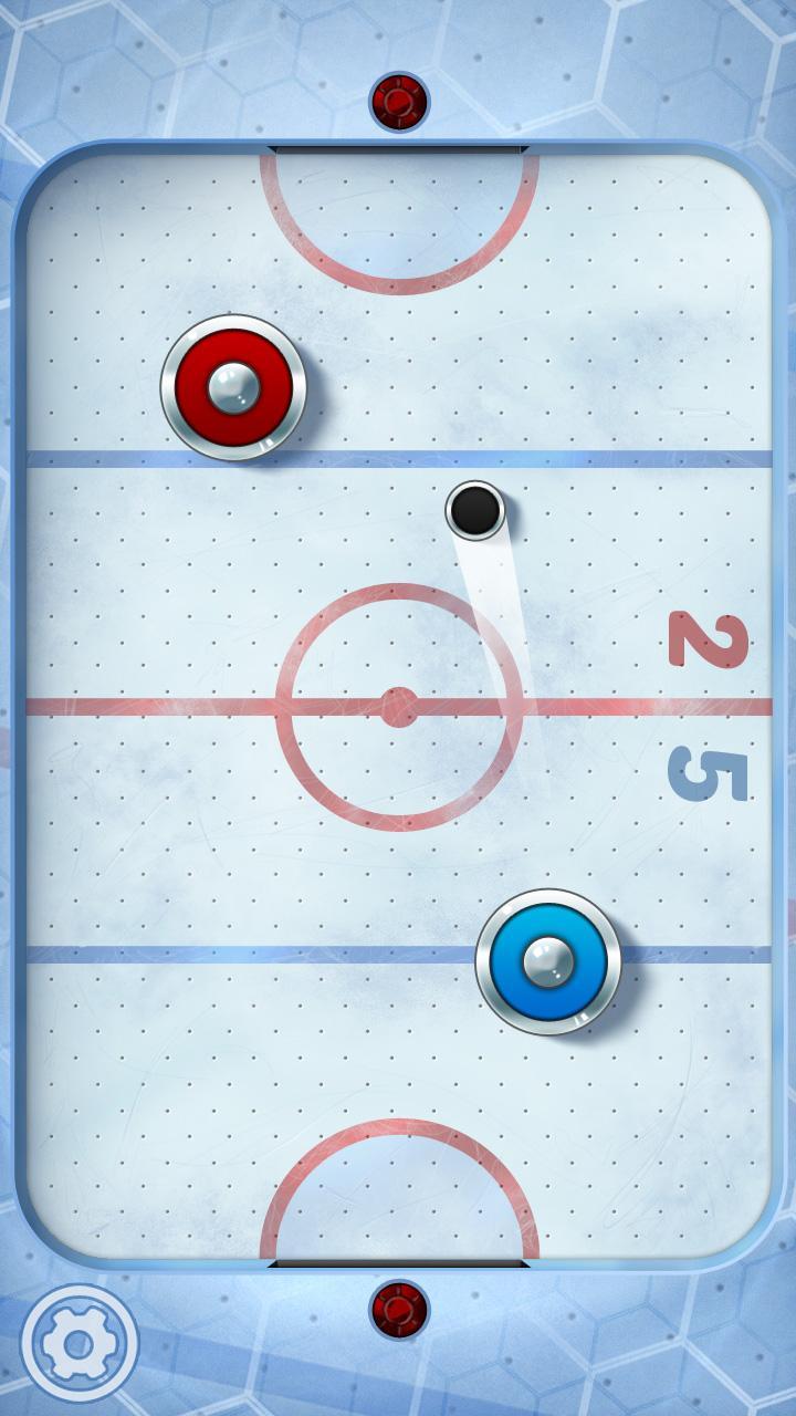 Скриншот NOX Air Hockey:Ice Cup 2015 HD
