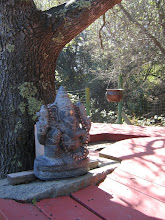 Photo: Yoga Farm, Grass Valley, CA - Ganesha at the Durga temple