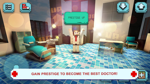 Hospital Craft: Doctor Games Simulator & Building 1.22-minApi19 Mod screenshots 4