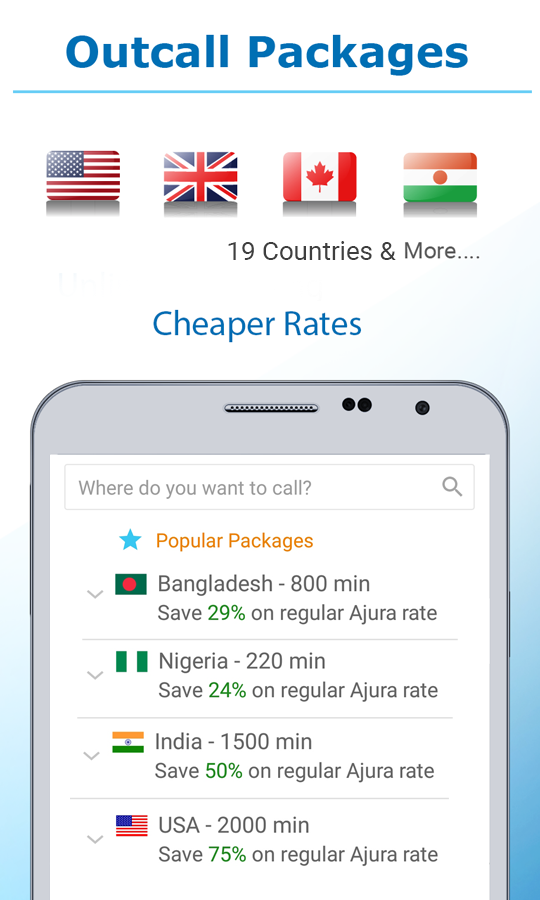 Cheap International Calls & Low Cost Roaming- screenshot