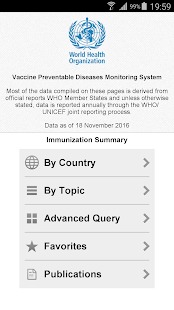 Immunization Summary- screenshot thumbnail