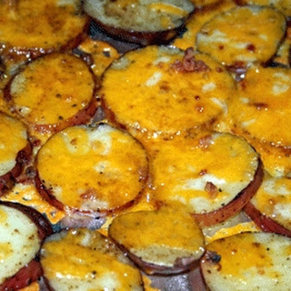 Easy Bacon Cheddar Potatoes