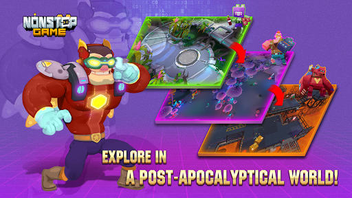 Nonstop Game: Cyber Raid 0.0.34 screenshots 5