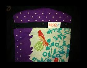 "Photo: ""Tiki"" customized Beco Butterfly II on black straps"