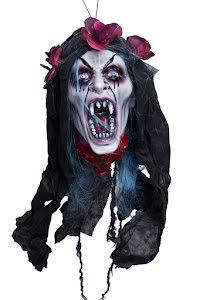 Skalle gothisk vampyr