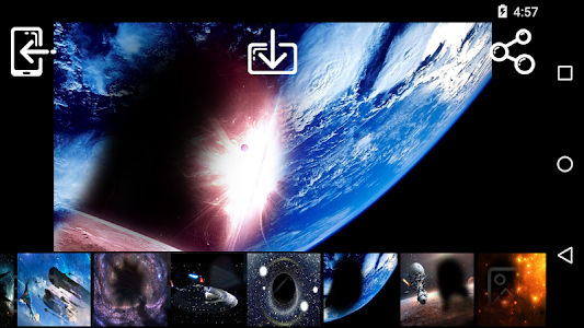 Outer Space Photo Frames screenshot 2