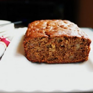 Browned Butter Banana Bread with Frangelico and White Chocolate Chips