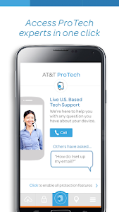 At T Protect Plus The At T Protect Plus App Provides One Click