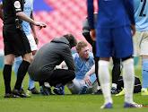 Kevin De Bruyne wacht af of de ligamenten van zijn enkel geraakt zijn