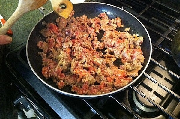 In a large skillet add your 3 tbsp of olive oil and heat to...