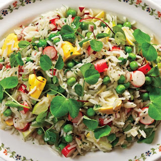 Basmati Rice and Summer Vegetable Salad.