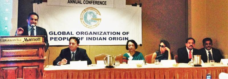 GOPIO Conference Session on Major Issues of the Indian Diaspora