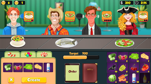 Salad Bar Manager Frenzy: Food Cafe Manager 1.0.5 screenshots 8