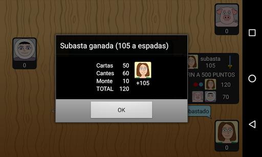 Tute Subastado 1.3.0 screenshots 24