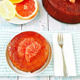 Bittersweet Citrus Semolina And Almond Cake.