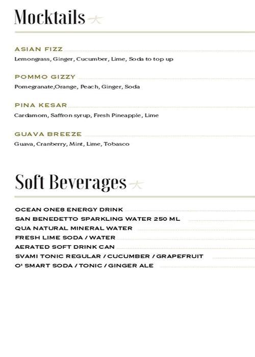 KOKO Asian Gastropub menu 10