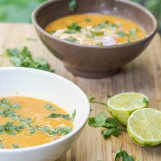 Thai Red Lentil Soup {Gluten-Free, Vegan}