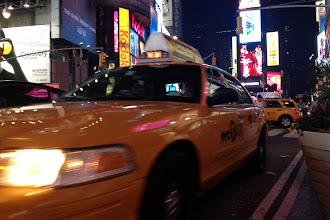 Photo: Yellow cabs in Times Square http://ow.ly/caYpY