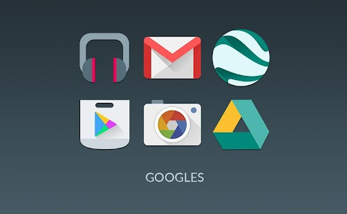 MATERIALISTIK ICON PACK - screenshot thumbnail