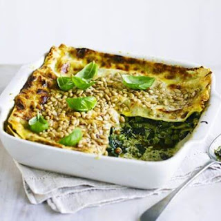Easy Pesto Lasagne