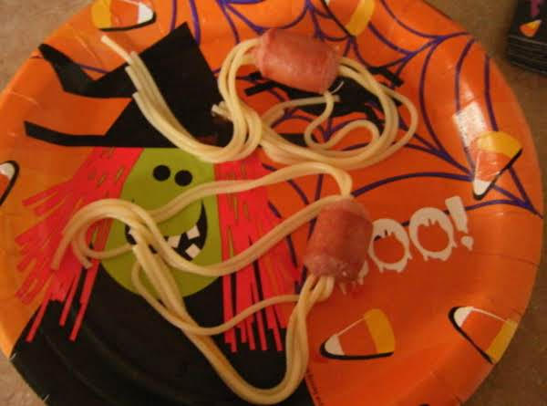 Hotdog Spiders Recipe