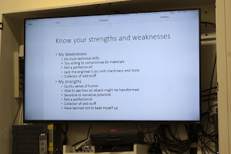 Photo: It is always good to know your own strengths and weaknesses.  Sometimes a weakness is a strength as well.