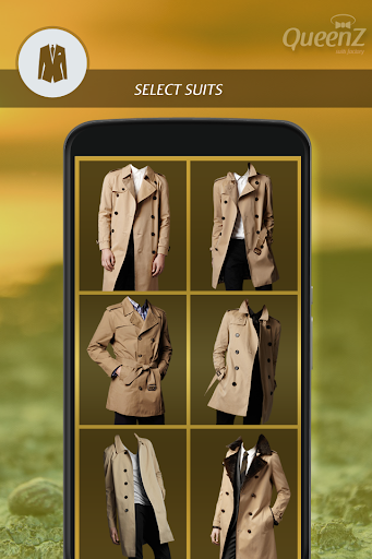Man Trench Coat Photo Suit