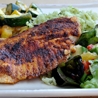 Spice Rubbed Grilled Fish Fillets for Summertime on the Grill Recipe