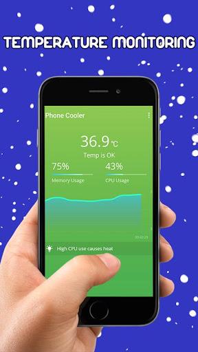 CPU散热器主电话冷却器 降温大师—专业手机降温