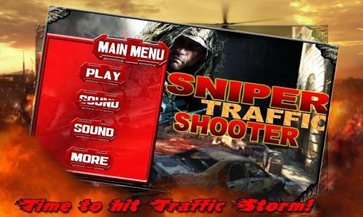 Sniper Traffic Shooter 2015