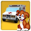 Ambulance Pet Rescue 3D 2017 icon