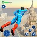 Rope Hero Robot: Crime Town icon