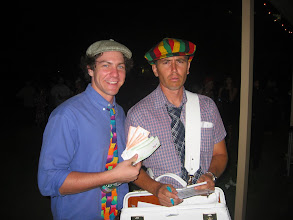 Photo: Would you place a bet on a horse with this bookie?
