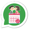 Figurinhas dia dos namorados WAStickerApps icon