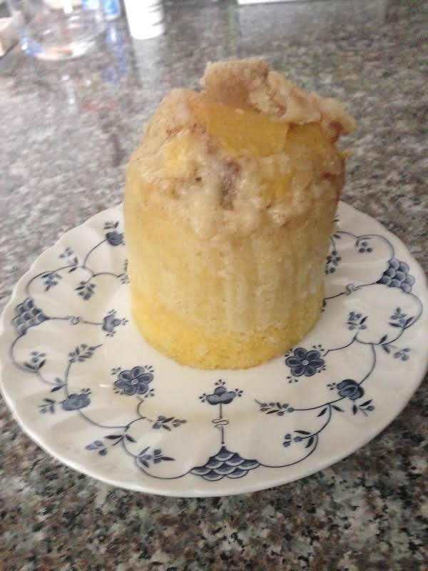 Fruit On The Bottom/top Mug Cake Recipe
