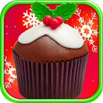 Christmas Cupcakes Maker FREE Icon