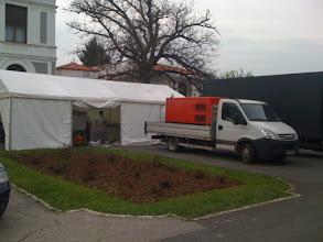 Photo: Generator Perkins 100kva, Palatul Snagov, Inchiriere