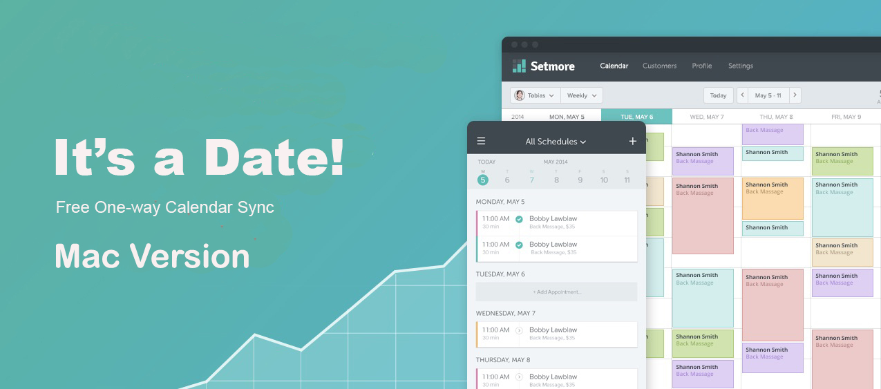 Sync your calendar with Setmore