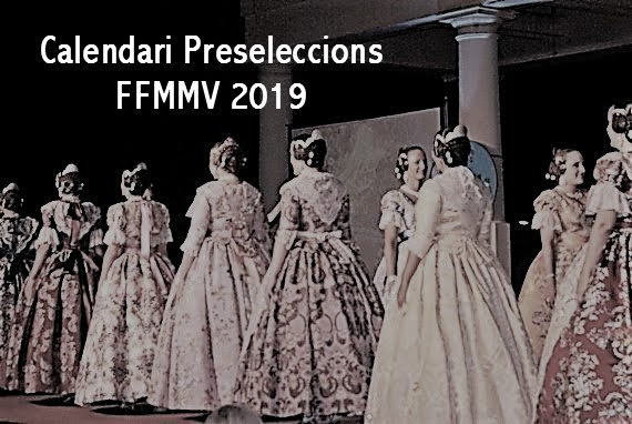 Calendari Preseleccions FFMMV 2019