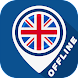 Map of UK - Androidアプリ
