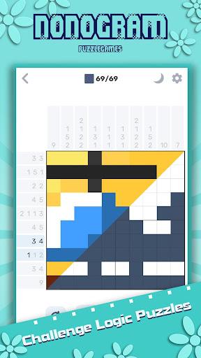 Nonogram - Logic Pixel Cross Puzzle  screenshots 1
