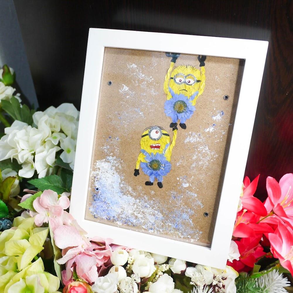 [現貨/stock] Framed Pressed Flower Picture