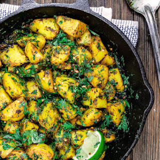 Middle Eastern Spicy Potato Salad Recipe (Batata Hara)