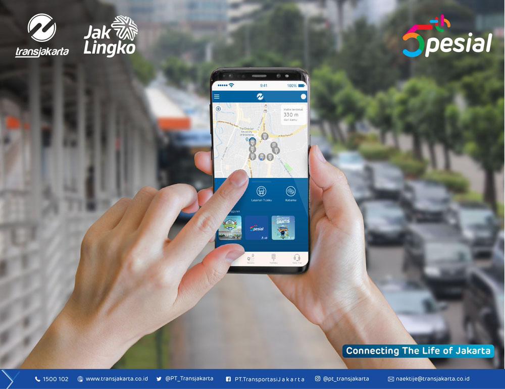 tijeku public transportation apps jakarta