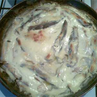 Simple Baked Smelt in Sour Cream