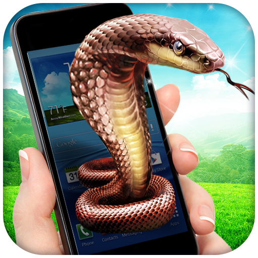Snake In Phone Prank Icon