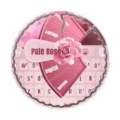 Pale Rose GO Keyboard