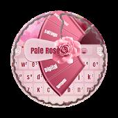 Pale Rose GO Keyboard Theme