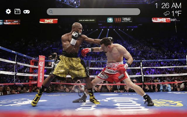 Boxing HD new free tab theme